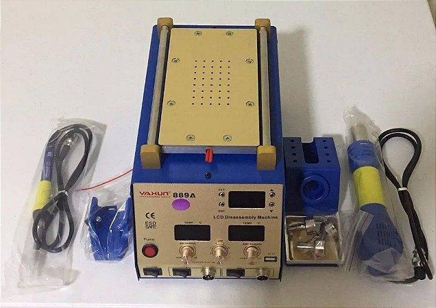 MAQUINA SEPARADORA DE LCD UDI 889 ( YAXUN ) 889A ( 3X1 ) ESTAÇÃO DE RETRABALHO 110V