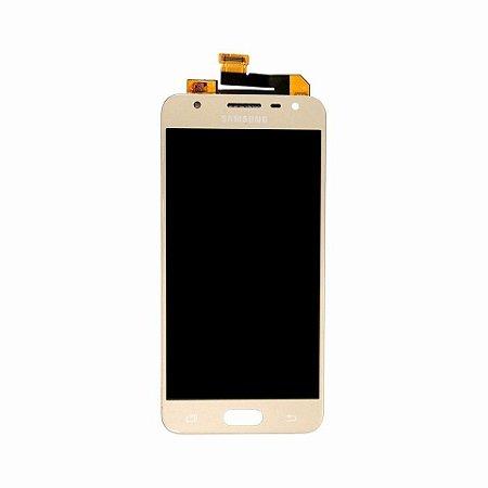 DISPLAY LCD SAMSUNG J5 PRIME /G570 GALAXY J5 PRIME COMPLETO - DOURADO