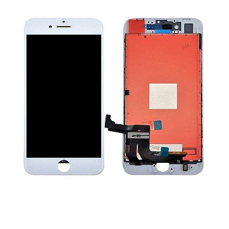 """DISPLAY LCD iPHONE 8G PLUS  5.5"""" BRANCO - 1º LINHA"""