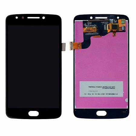 DISPLAY LCD MOTOROLA MOTO E4 XT1763  COMPLETO - PRETO