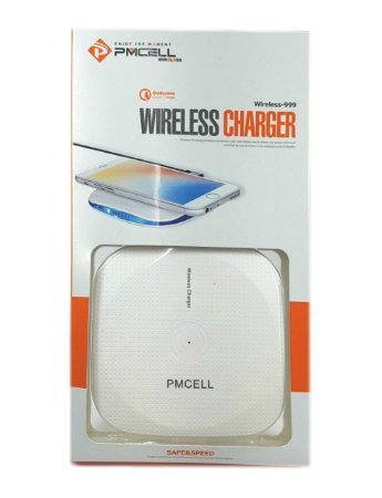 CARREGADOR WIRELESS PMCELL WR11 GALAXY S6, S6 EDGE,S7, S7 EDGE, S8, S8+, S8 PLUS,  S9, S9+, S9 PLUS NOTE 5