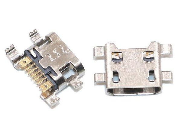 CONECTOR DE CARGA LG  K10 2016 K4 K430 K4 K130 K5 X220 K7 X210 K8 K350 PARA SOLDA NA PLACA