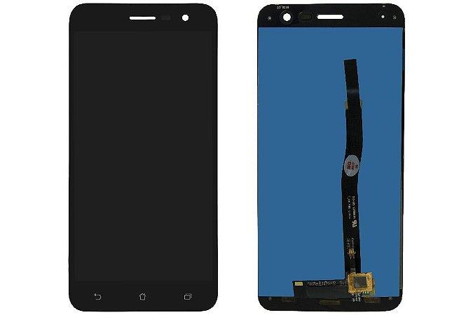 """DISPLAY LCD ASUS ZENFONE 3  -  5.2"""" ZE520KL COMPLETO - PRETO"""