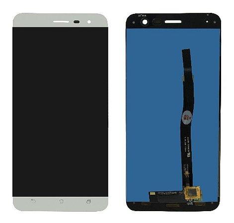 """DISPLAY LCD ASUS ZENFONE 3  -  5.2"""" ZE520KL COMPLETO - BRANCO"""