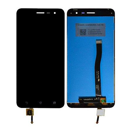 """DISPLAY LCD ASUS ZENFONE 3 - 5.5"""" ZE552KL  COMPLETO - PRETO"""
