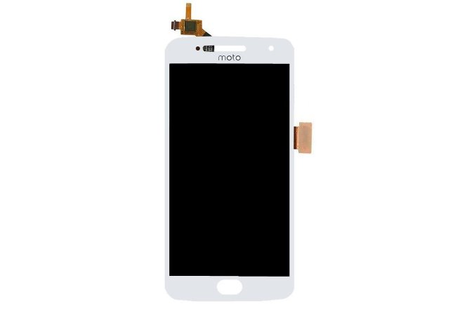 DISPLAY LCD MOTOROLA XT1672 MOTO G5 COMPLETO - BRANCO