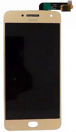DISPLAY LCD MOTOROLA XT1683 MOTO G5 PLUS - DOURADO