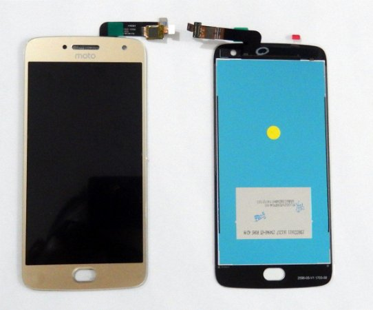 DISPLAY LCD MOTOROLA XT1683 MOTO G5 PLUS - DOURADO