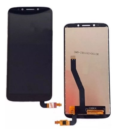 DISPLAY LCD MOTOROLA MOTO E5 PLAY XT1920 PRETO