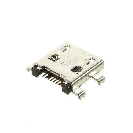 CONECTOR DE CARGA SAMSUNG G110/G3812/i9190/i9192/I9195/i8262/S6293 PARA SOLDA NA PLACA