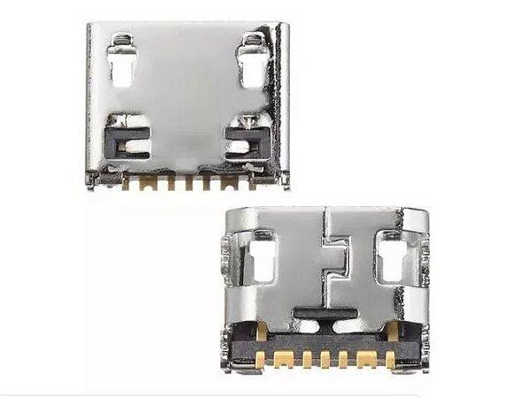 CONECTOR DE CARGA SAMSUNG C3592/G313/S5282/S6810/S7710 PARA SOLDA NA PLACA