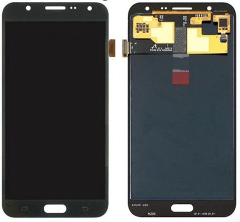 DISPLAY LCD SAMSUNG GALAXY J7/J700 PADRÃO ORIGINAL PRETO