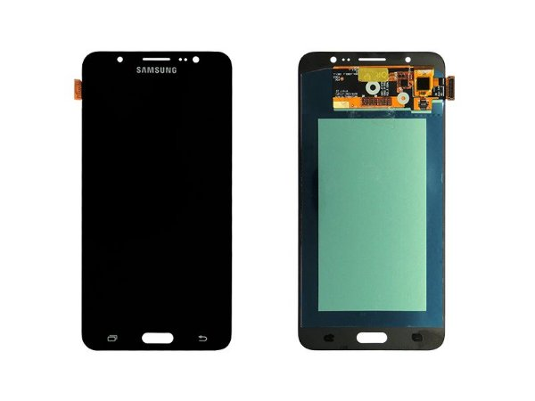 DISPLAY LCD SAMSUNG J710 GALAXY J7 METAL - PADRÃO ORIGINAL - PRETO