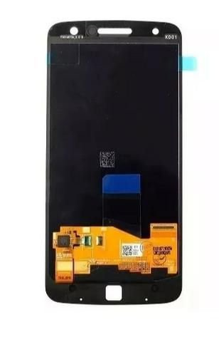 DISPLAY LCD MOTOROLA MOTO XT1650 MOTO Z / MOTO Z POWER COMPLETO ORIGINAL - PRETO