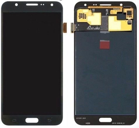 DISPLAY LCD SAMSUNG GALAXY J7 J700 PRETO / CINZA GRAFITE