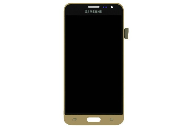 DISPLAY LCD SAMSUNG J3/J320 GALAXY J3 2016 COMPLETO - DOURADO