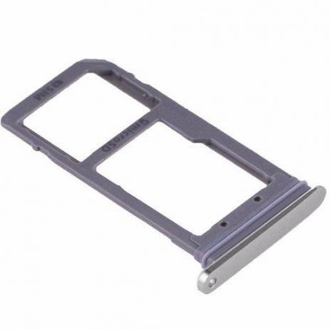 GAVETA CHIP SIM SAMSUNG S7 EDGE G935 - PRATA