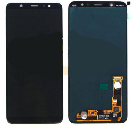 DISPLAY LCD SAMSUNG J8 2018- J800 / J810 PRETO - INCELL