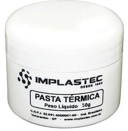 PASTA TÉRMICA IMPLASTEC - 50g