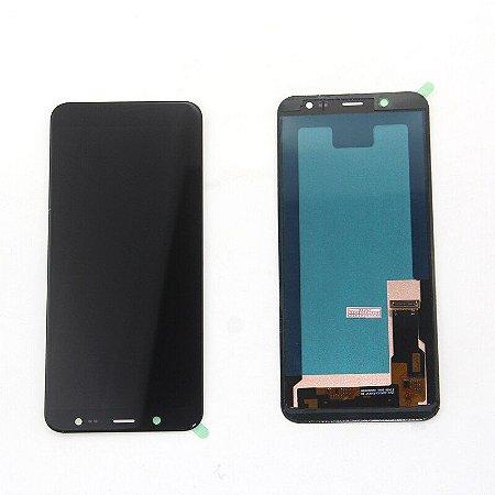 DISPLAY LCD SAMSUNG GALAXY J6/J600 PRETO - INCELL