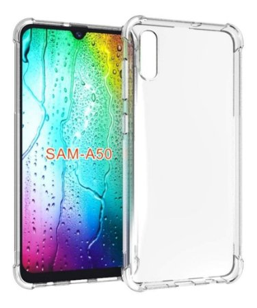CAPA ANTI SHOCK PARA SAMSUNG GALAXY A50 - TRANSPARENTE