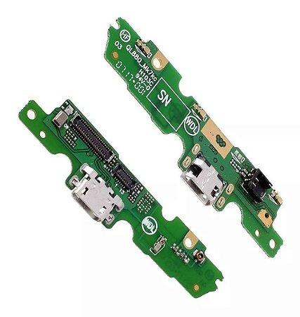 CONECTOR DE CARGA MOTOROLA XT1672 MOTO G5 -DOCK COMPLETO