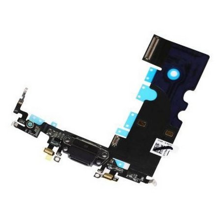 CONECTOR DE CARGA iPHONE 8G (4.7) PRETO (FLEX DOCK)