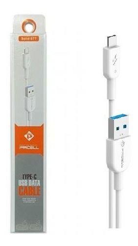 CABO DADOS / CARGA USB TIPO C PMCELL CB-11 - 1 METRO