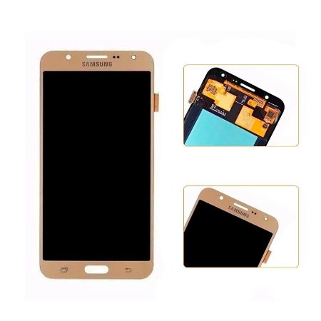 DISPLAY LCD SAMSUNG GALAXY J7/J700 ORIGINAL DOURADA