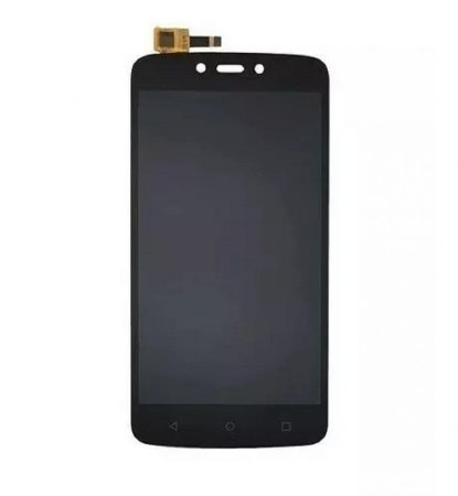DISPLAY LCD MOTO C PLUS - XT1726 / DISPLAY MOTO C PLUS PRETO
