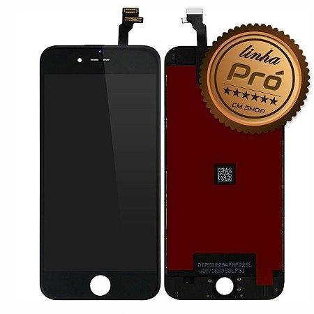 """DISPLAY LCD iPHONE 6G (4,7"""") PRETO - LINHA PRÓ"""