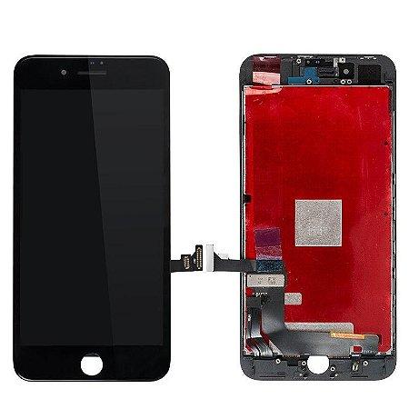 """DISPLAY LCD iPHONE 8G (4,7"""") PRETO - 1º LINHA"""
