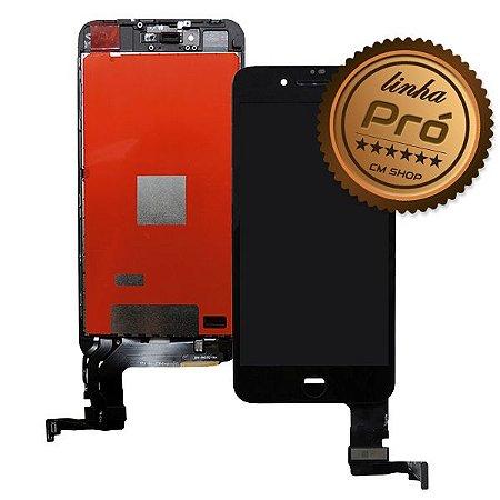 "DISPLAY LCD iPHONE 8G PLUS  5.5"" PRETO - LINHA PRÓ"