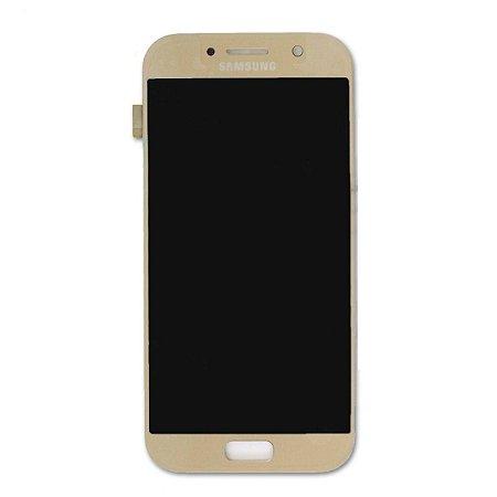 DISPLAY LCD SAMSUNG GALAXY A5 (2017) - A520 DOURADA - INCELL