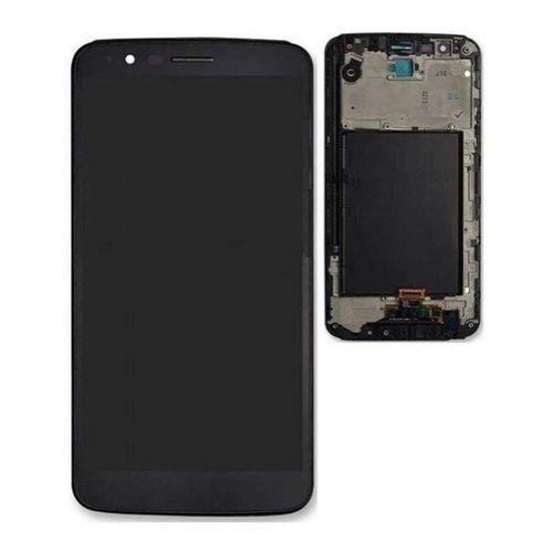 DISPLAY LCD LG K10 PRO M400 PRETO - COMPLETA  (COM ARO)