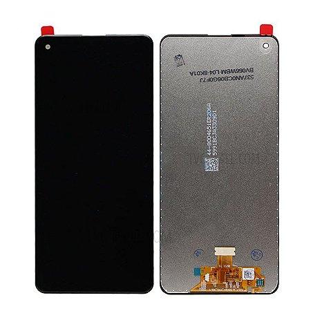 DISPLAY LCD SAMSUNG GALAXY A21S A217 SEM ARO