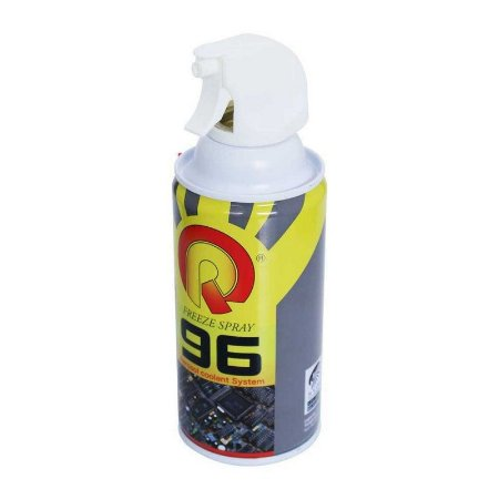 SPRAY AEROSOL CONGELANTE FREEZE SPRAY 96 - 400ML / SPRAY CONGELANTE 96 ( ROHS ) DE USO PROFISSIONAL