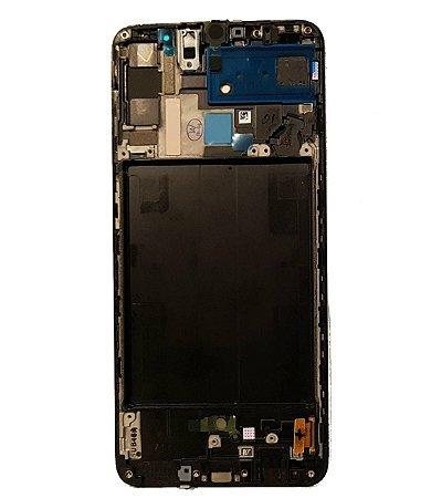 DISPLAY LCD SAMSUNG GALAXY A70 A705 ORIGINAL COM ARO