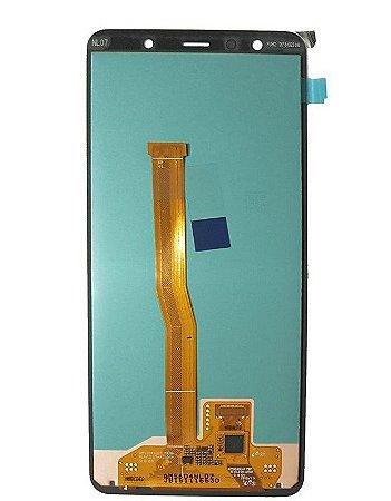 DISPLAY LCD SAMSUNG A750 PADRÃO ORIGINAL