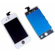 DISPLAY LCD iPHONE 4G/4S BRANCO - 1º LINHA