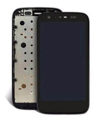 DISPLAY LCD MOTOROLA G1 XT1032 Xt1033 XT1040 MOTO G1 COM ARO PRETO