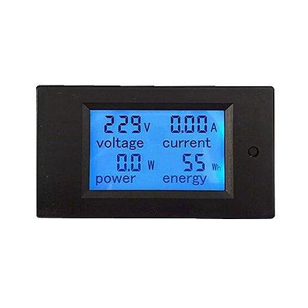 Medidor Digital 4x1 100A 260VAC - LCD