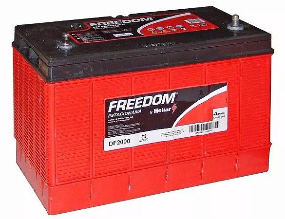 Bateria Estacionaria Freedom - DF2000 115 Ah - 2 Anos Garantia