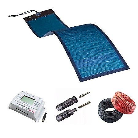 KIT Painel Solar Flexível 125W MiaSolé