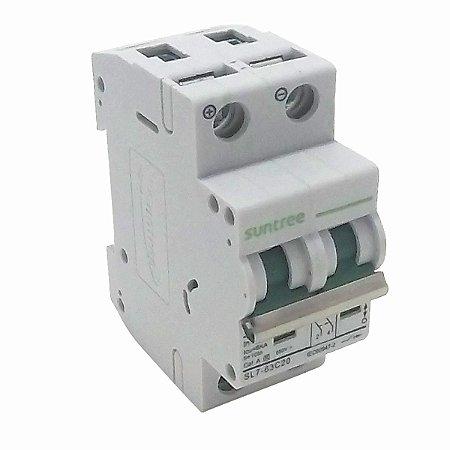 Disjuntor Bipolar 20A 550VDC Suntree