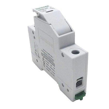 Porta Fusível + Fusível 25A 1000VDC Suntree