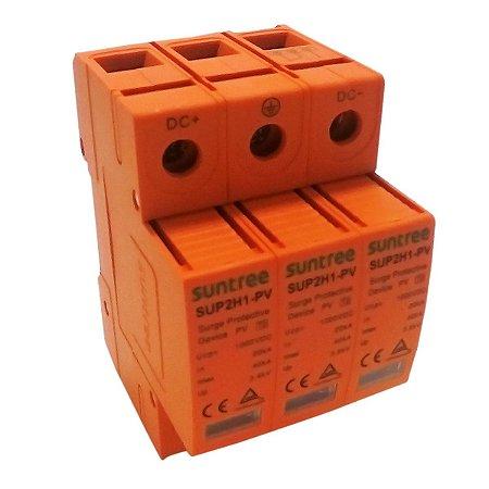 DPS Dispositivo de Proteção contra Surtos Bipolar 40kA 1000V DC Suntree
