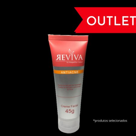CREME FACIAL ANTIACNE | REVIVA By Margaritha Cobuci