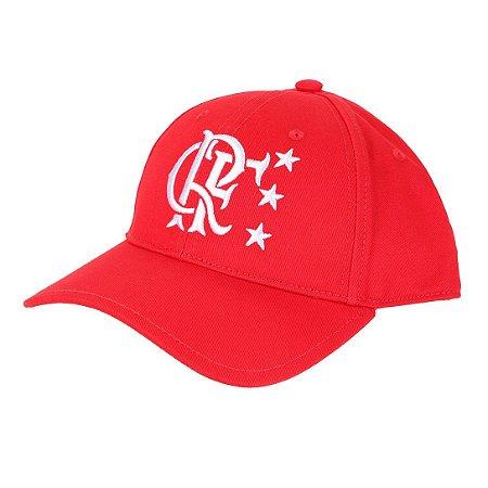 Boné Adidas Flamengo Aba Curva