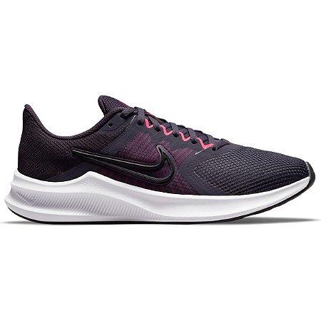 Tênis Nike Downshifter 11 Feminino - Roxo+Preto